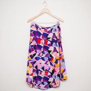 ANTHRO Maeve Ava Printed Skirt